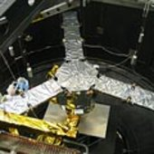 SMOS payload in the Large Space Simulator