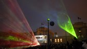 Sound-and-light show at Paris-Trocadéro