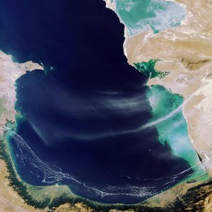South Caspian Sea as seen by Envisat