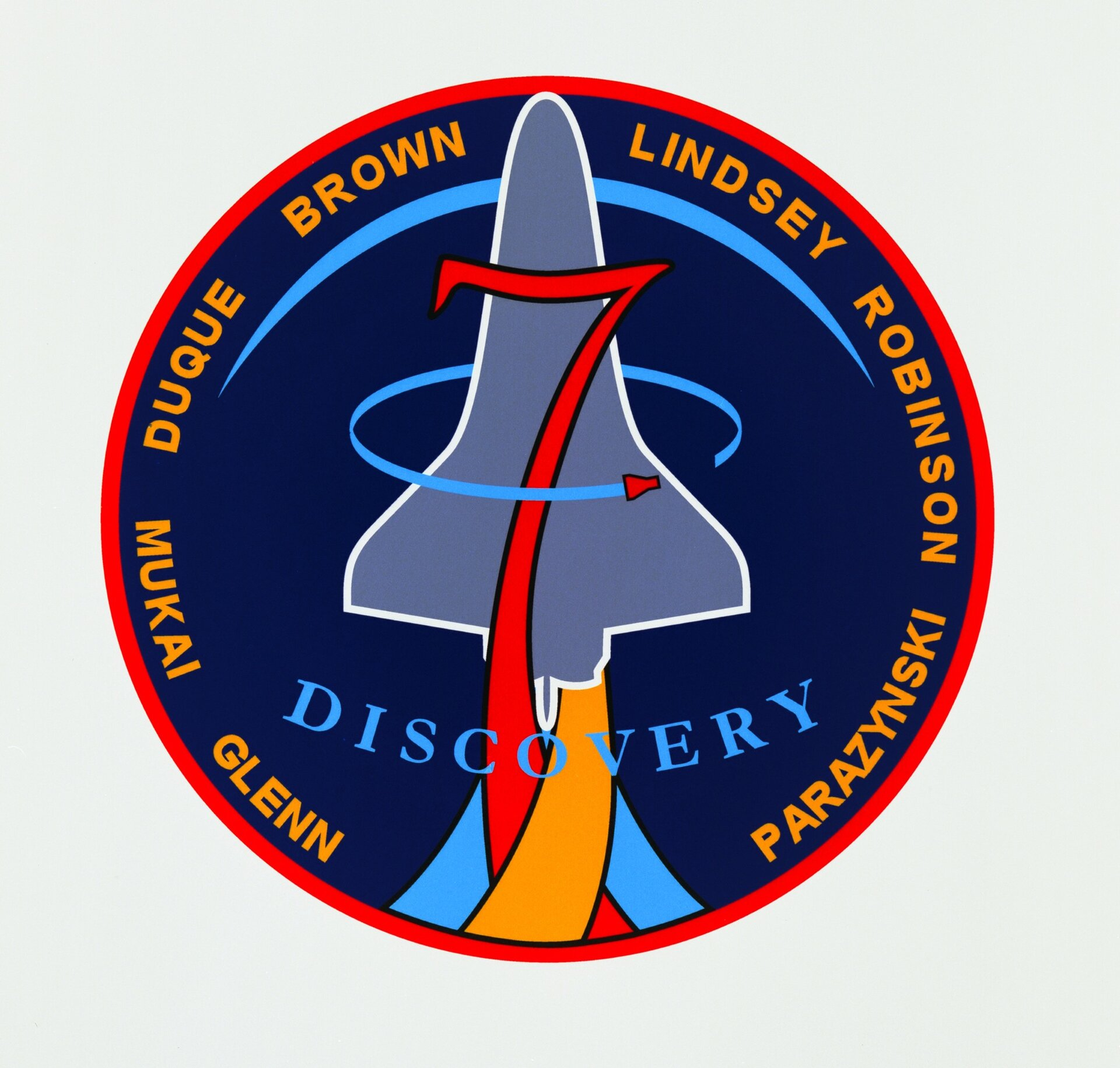 STS-95 patch, 1998