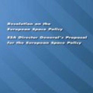 ESA BR-269 Resolution on the European Space Policy: ESA ...