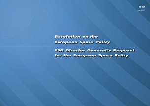 European Space Policy / Welcome to ESA / About Us / ESA