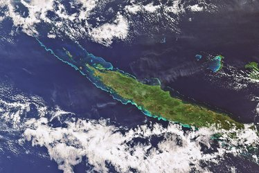 Envisat looks at New Caledonia