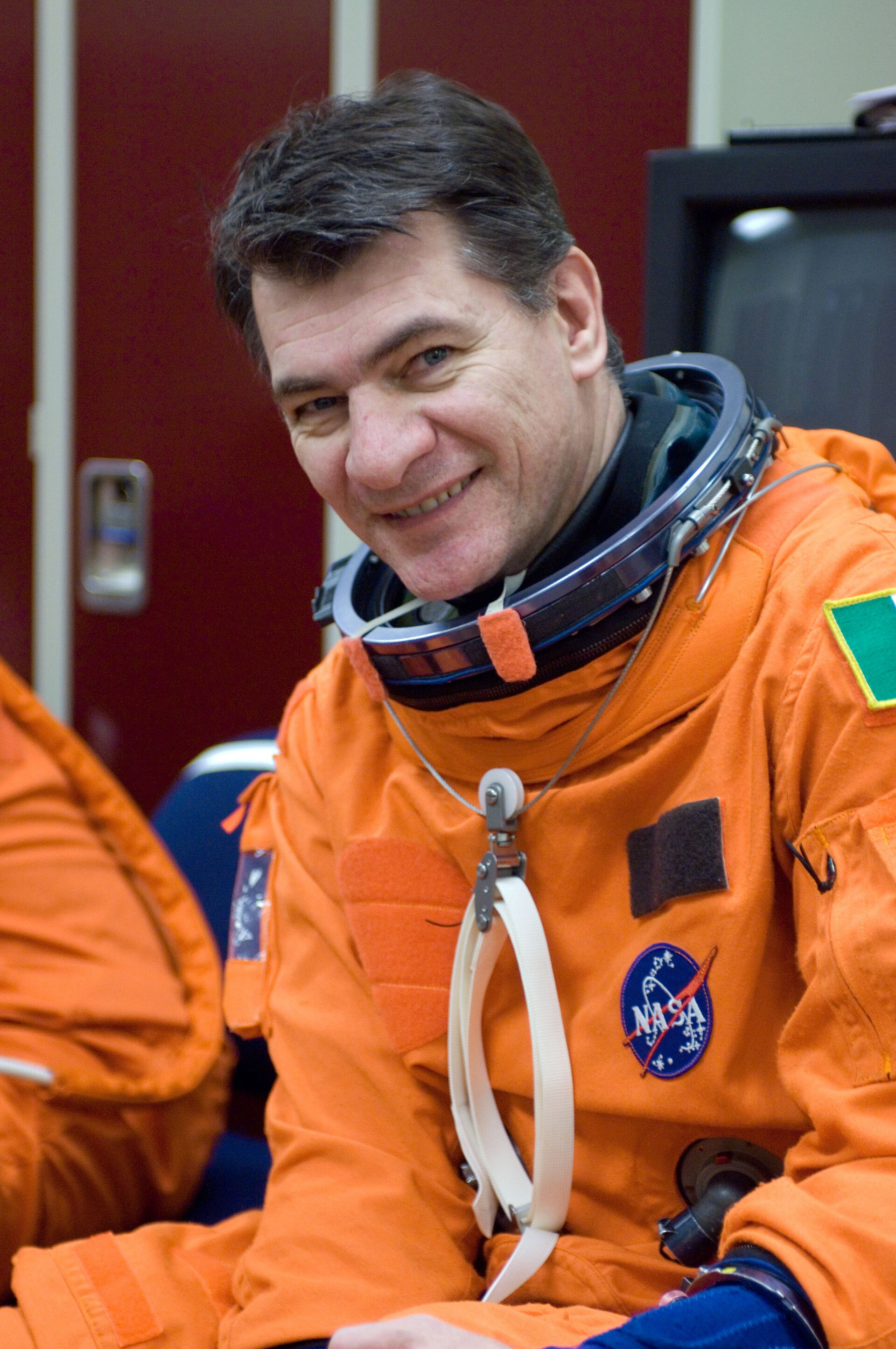 European Space Agency (ESA) astronaut Paolo Nespoli, STS-120 mission specialist