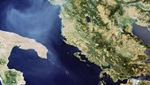 Fires in Greece and the Balkans