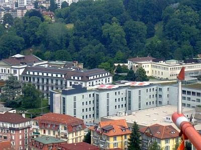 Helipads at Lausanne University Hospital (CHUV)