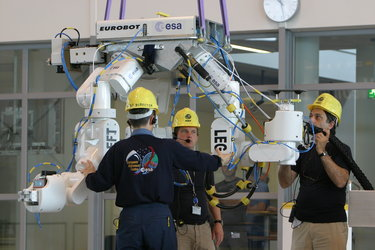 Preparing the Eurobot WET Model ahead of trials in the Neutral Buoyancy Facility at EAC