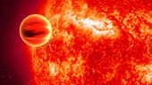 Transiting exoplanet HD 189733b, in the infrared