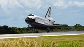 Endeavour landing at NASA's Kennedy Space Center