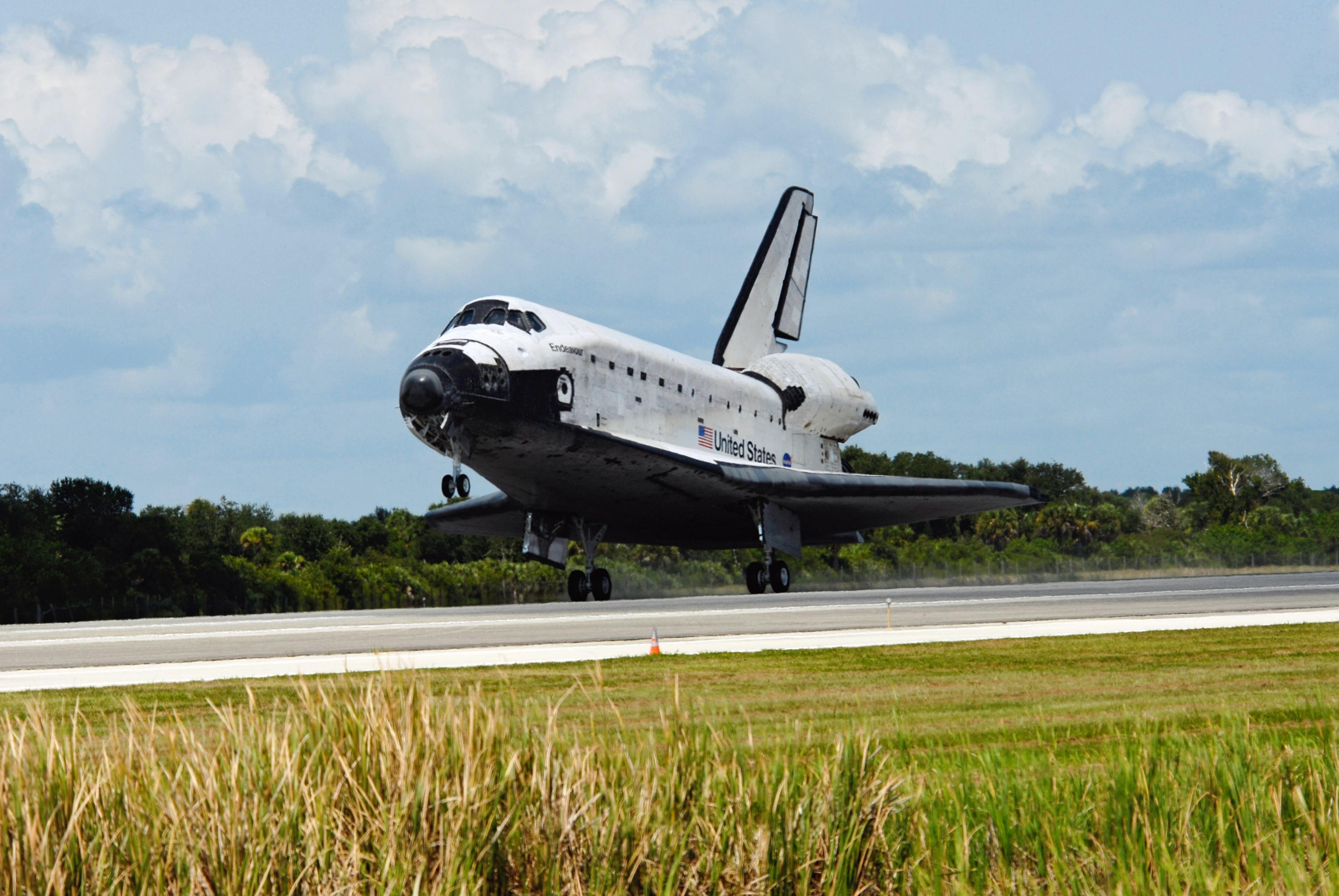 space shuttle landing in europe - photo #8