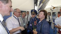 Dordain and Feichtinger meet Leonov and Tereshkova