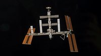 ISS configuration before STS-118