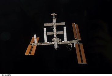 ISS configuration before arrival of STS-118