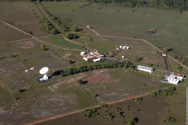 Kourou station aerial view