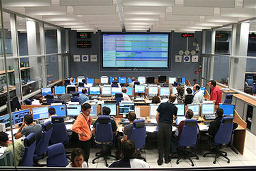 The ATV Control Centre, in Toulouse, France
