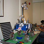 The NASA JPL rover Cliffbot