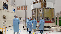 Unpacking ATV in Kourou