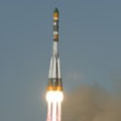 The Foton lift off from Baikonur launch pad