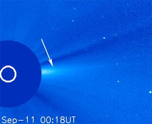 SOHO's first officially periodic comet