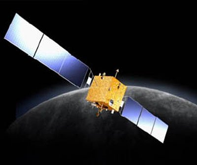 An artist's impression of the Chang'e-1 spacecraft