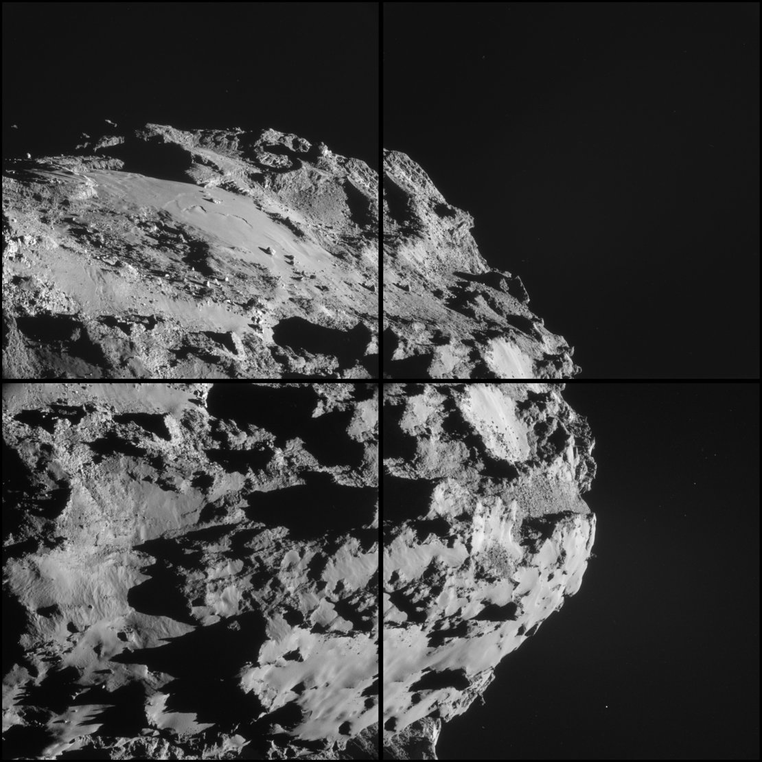 Comet on 8 October – NavCam