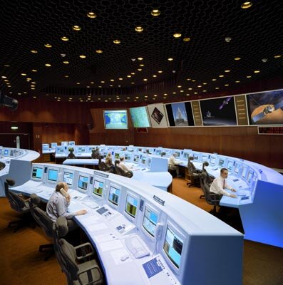 European Space Operations Centre - Main Control Room (MCR)