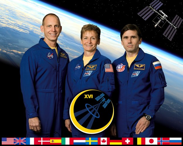 Expedition 16 crew (part 1) crew portrait