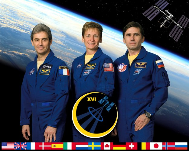 Expedition 16 crew portrait