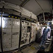 Interior view Columbus laboratory