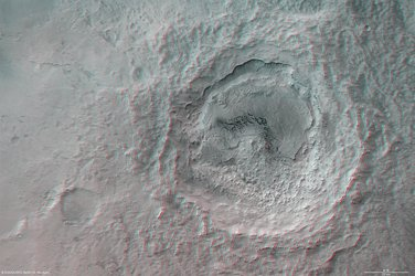 Maunder Crater, Noachis Terra