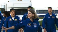 STS-120 crew prepare to meet crew during TCDT at KSC