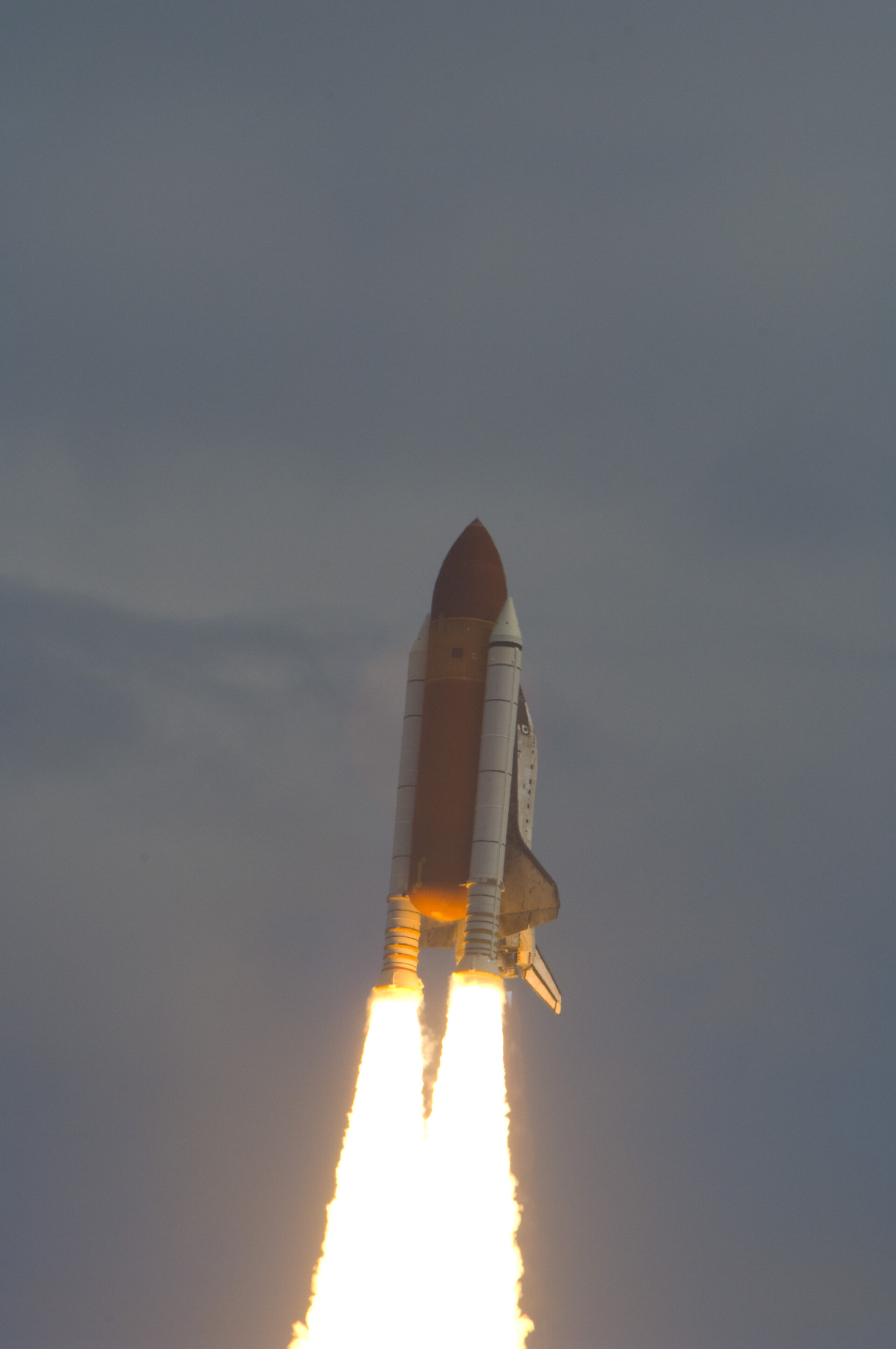 Successful lift-off of Space Shuttle Discovery from Cape Canaveral