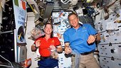Italian meal on board ISS