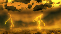Artist's concept of lightning on Venus