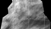Chaotic cloud patterns at Venus