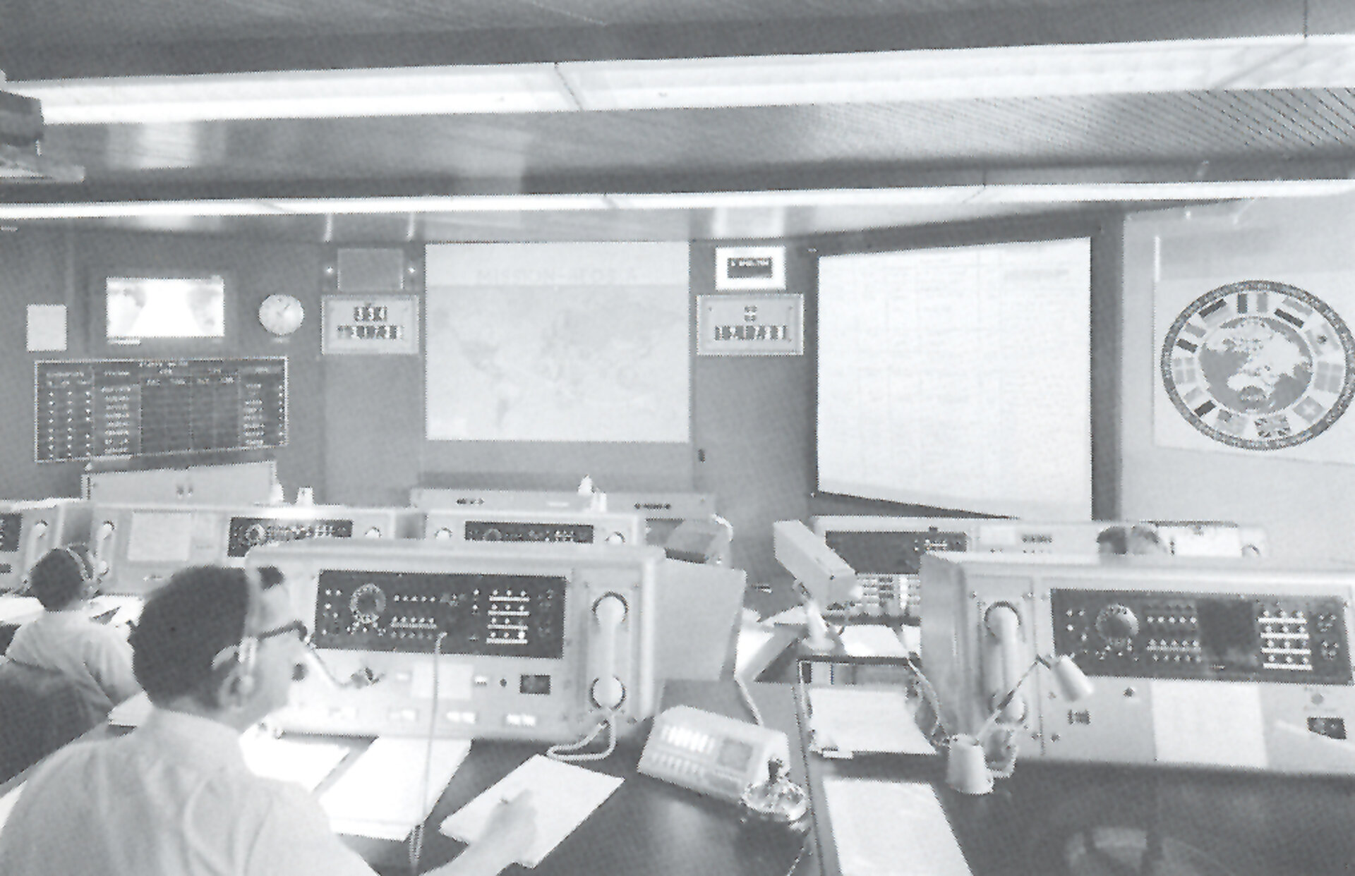 ESOC Main Control Room in the 1960s