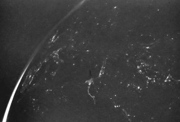 Europe at night, seen with OSIRIS