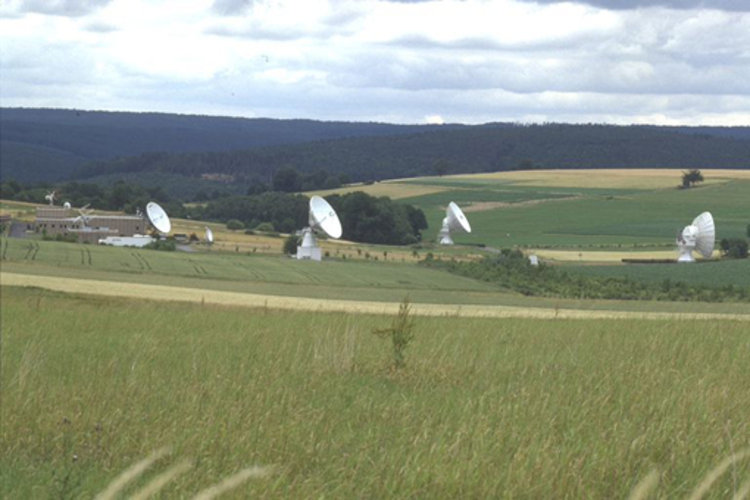 Meteosat ground station, Odenwald (Germany)