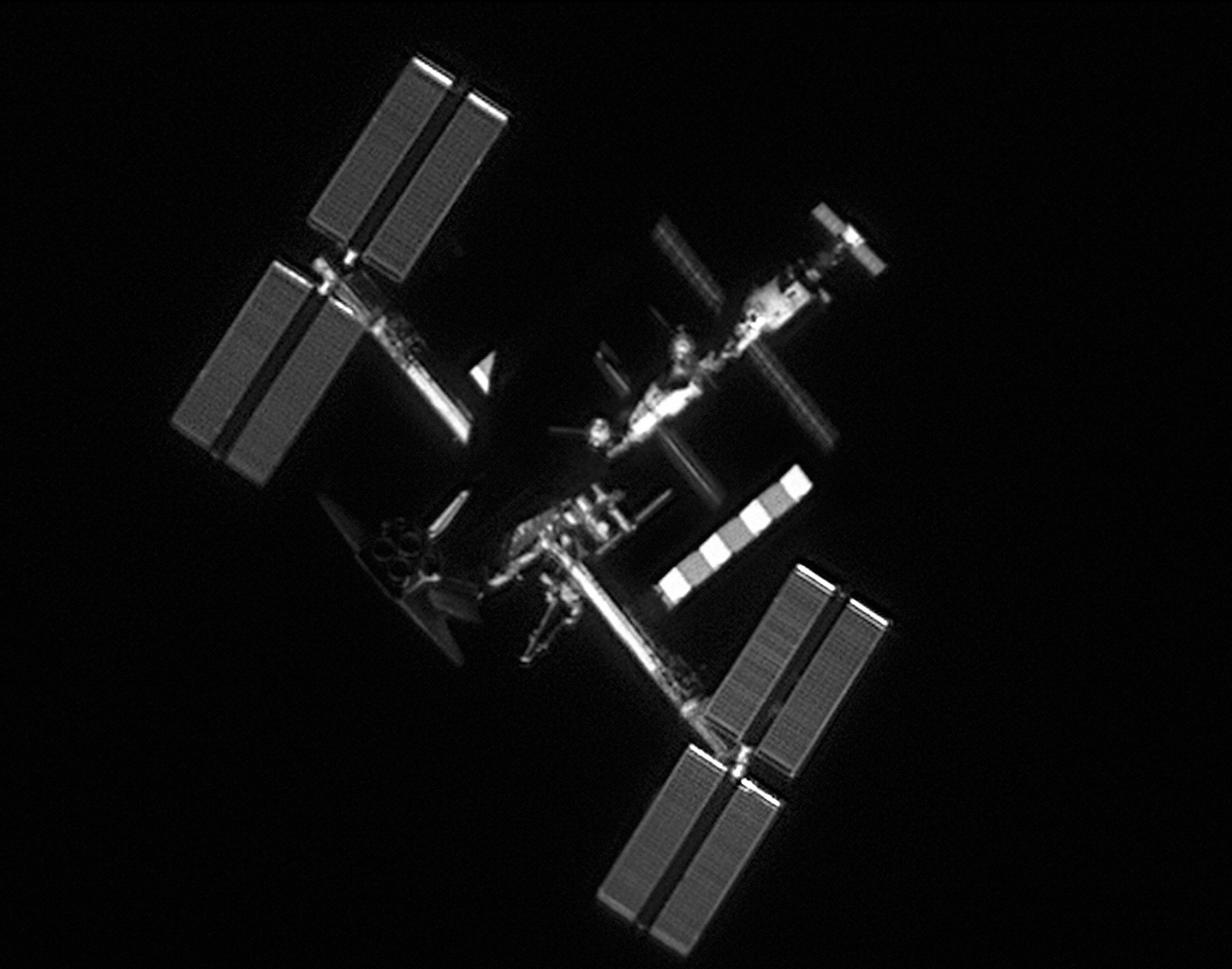 photos of the space station seen from the ground as - photo #27