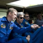 STS-122 during TCDT at KSC