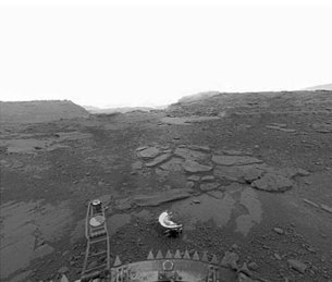 Surface of Venus seen by Venera 13