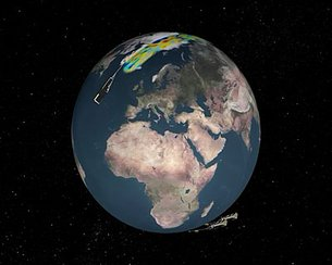 Swarm mapping of Earth's crust