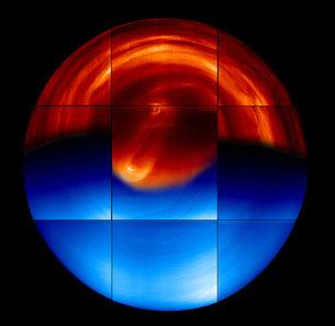 Venus, hemisferio sur