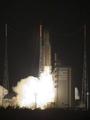 Ariane 5 GS lift off