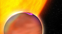 Extrasolar Planet's Hazy Atmosphere