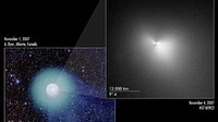 Hubble and wide-field ground based view of Comet 17P/Holmes
