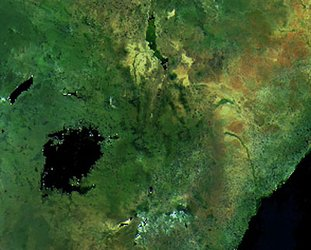 Kenya as seen by Envisat