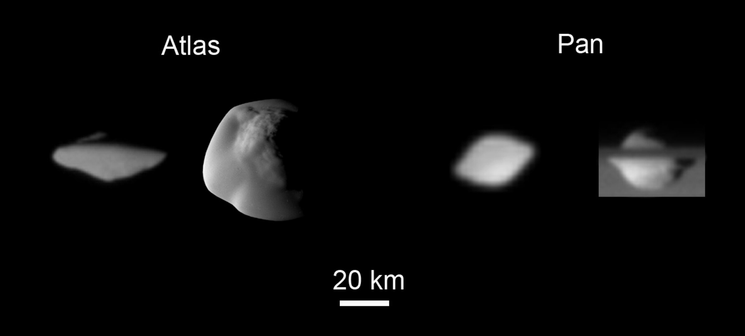 Saturn's saucer moons, annotated