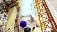 Ariane 5 ES is prepared for Jules Verne