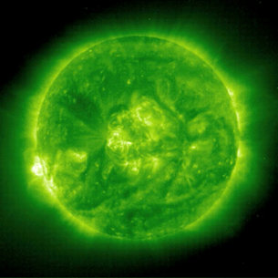 The Sun over one solar cycle